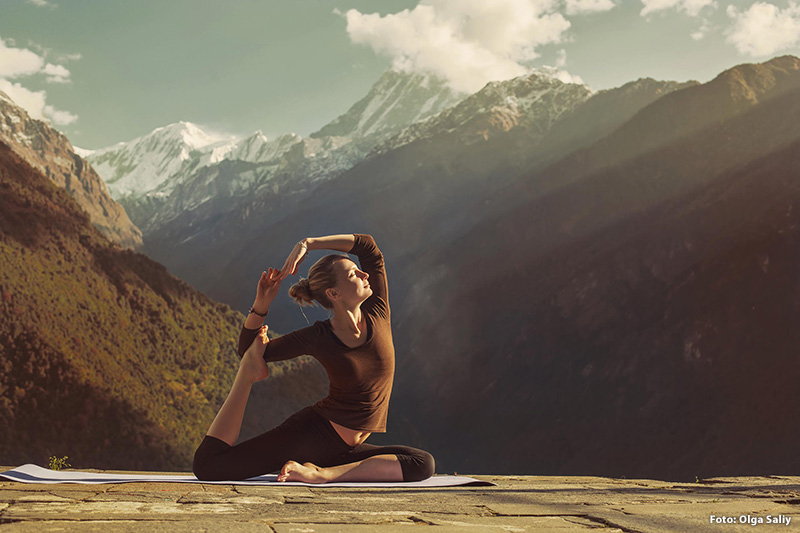Yoga-Kurse im Hotel Klammer's Kärnten