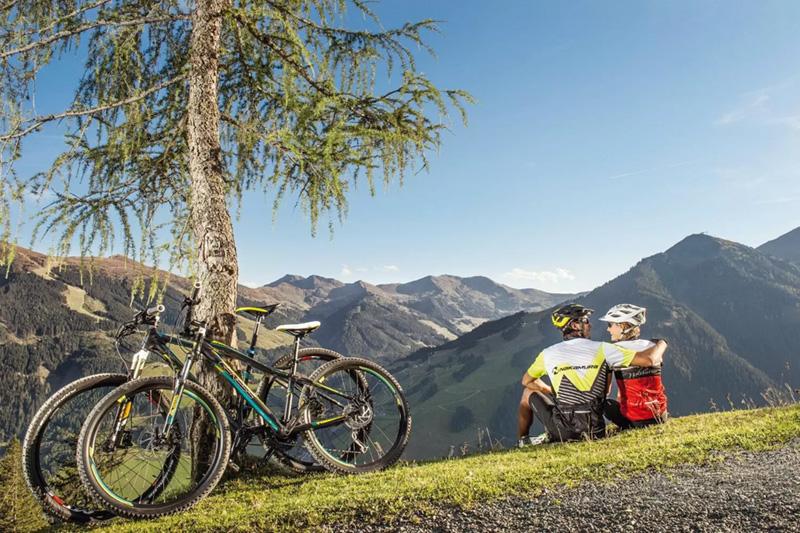 Direkten Anschluss zu 1.000 km Radwegen und 800 km MTB-Trails