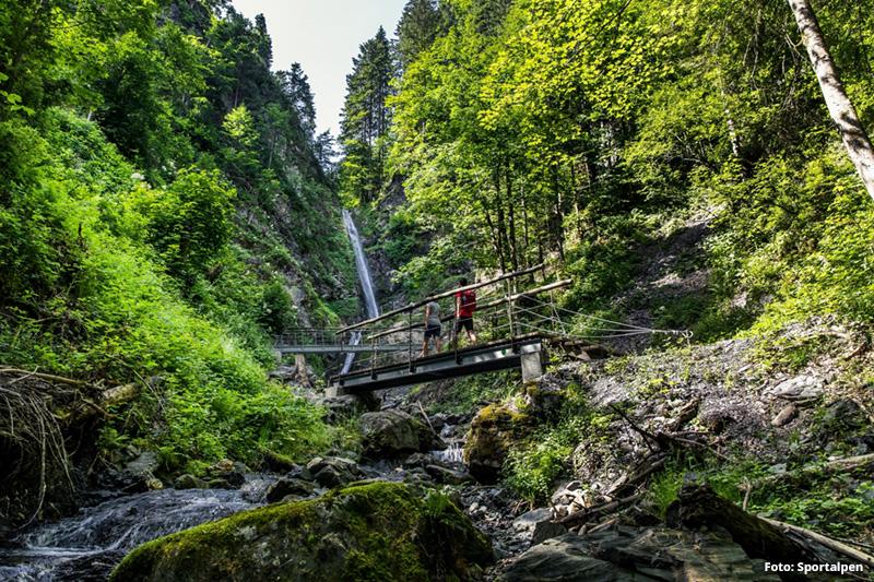 Wanderung zum Eifersbacher Wasserfall