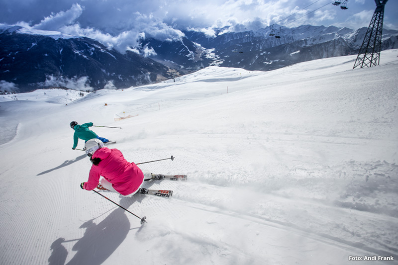 Skifahren im Skigebiet Hochpustertal