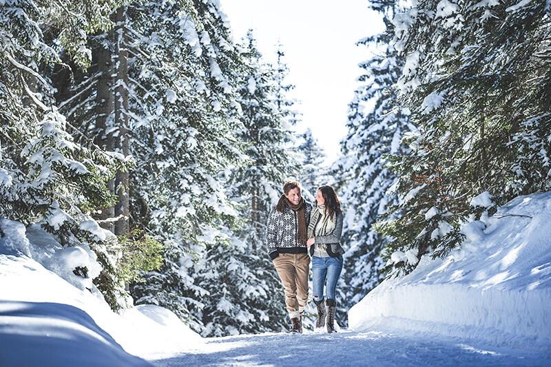 142 km präparierte Winterwanderwege