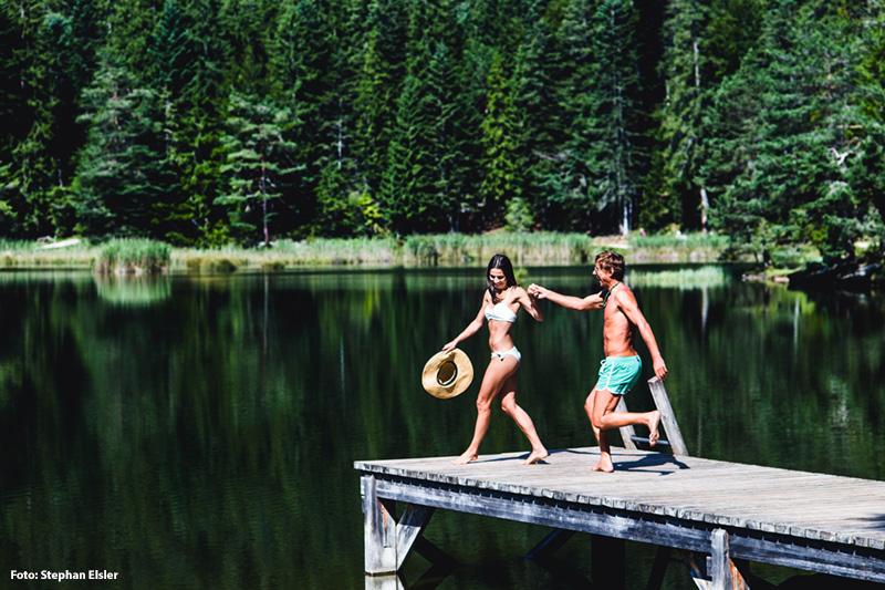 Sommerurlaub Möserer See