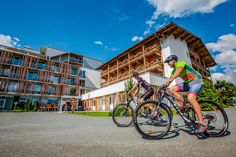 "Zertifiziertes ""Mountain Bike Holidays""-Hotel"
