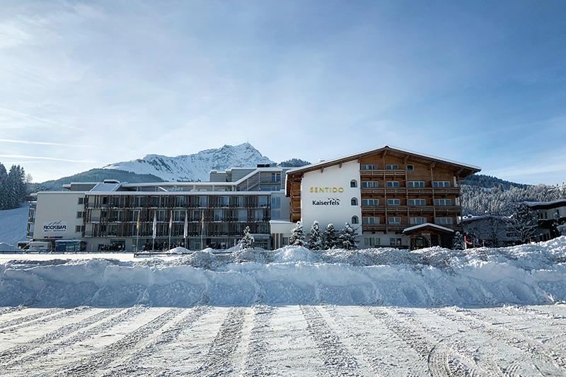 Winterurlaub im Sentido alpenhotel Kaiserfels ****