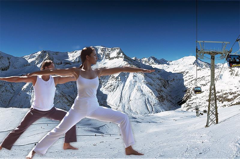 Ski und Yoga im Gasteinertal