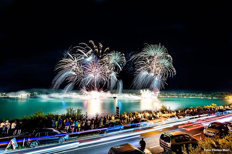 Feuerwerk Klopeiner See