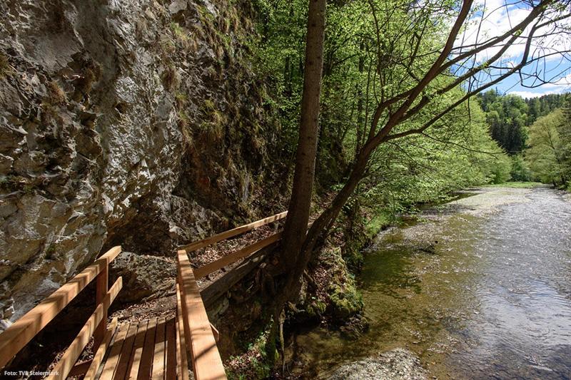 Raabklamm im Naturpark Almenland