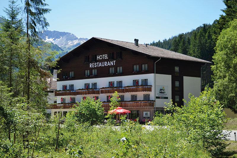 Sommerurlaub im Hotel Styrolerhof im Lechtal in Tirol