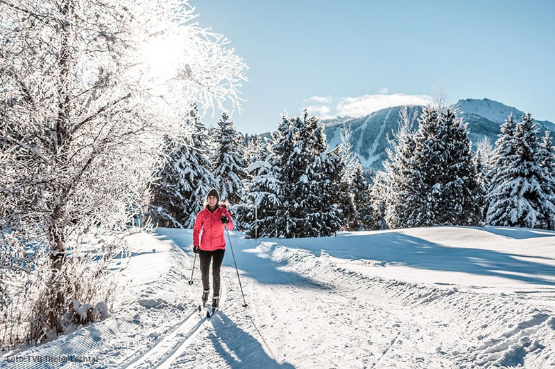 Langlaufen im Lechtal in Tirol