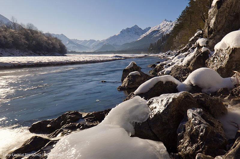 Winterurlaub im Lechtal