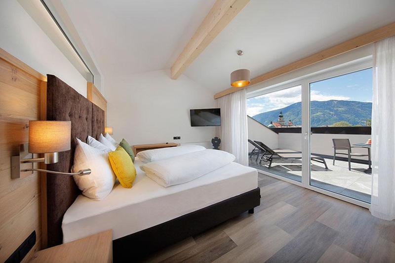 Doppelzimmer mit schöner Aussicht nach draußen