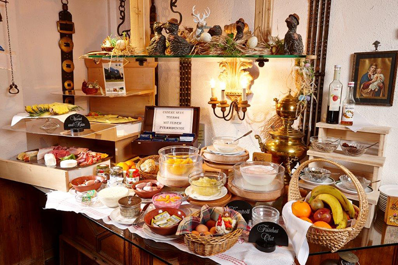 Fit in den Tag mit dem Bichlerhof Frühstücksbuffet