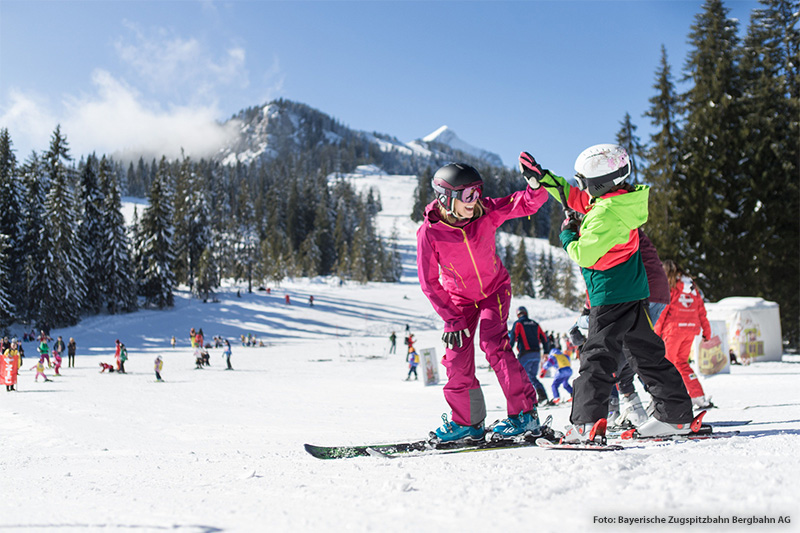 Skigebiet Garmisch-Classic