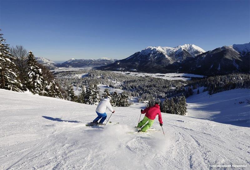 Skigebiet am Kranzberg