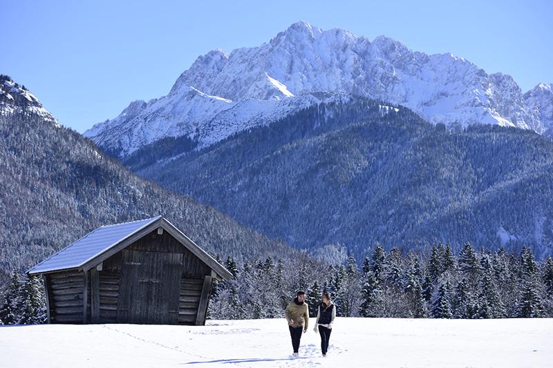 Winterurlaub in der Alpenwelt Karwendel