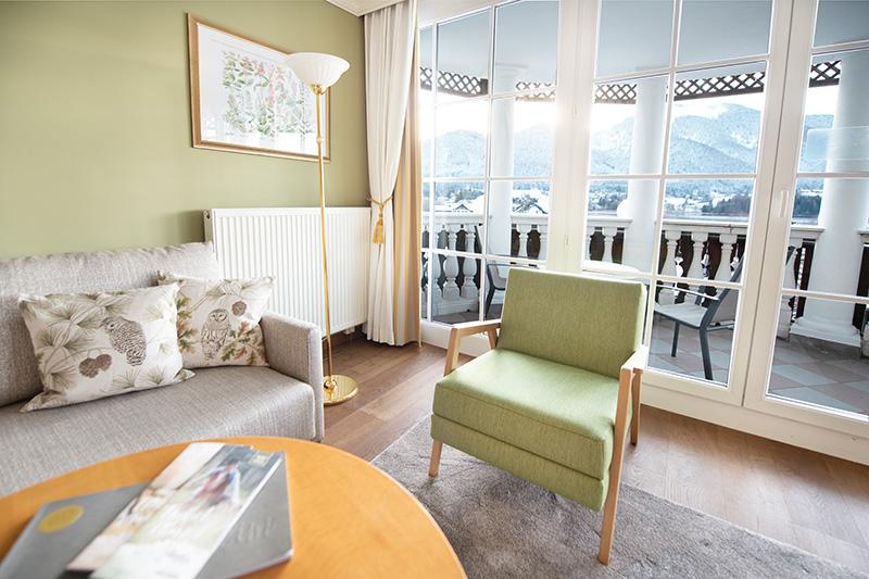 2 Zimmer-Turm Suite mit Balkon