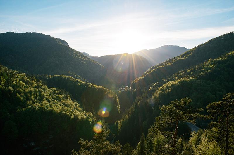 Die Weissbachschlucht - Naturparadies an der Deutschen Alpenstraße