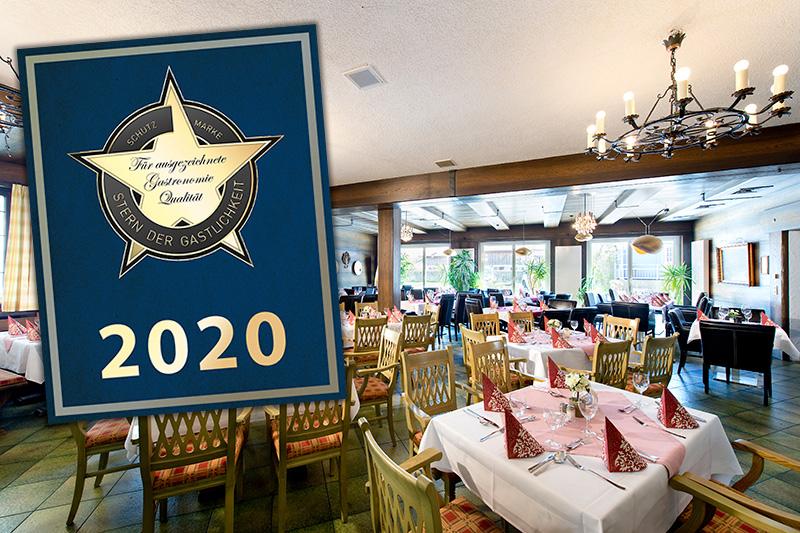 Ausgezeichnet mit dem Oberbayerischen Gastronomiepreis und dem Stern der Gastlichkeit