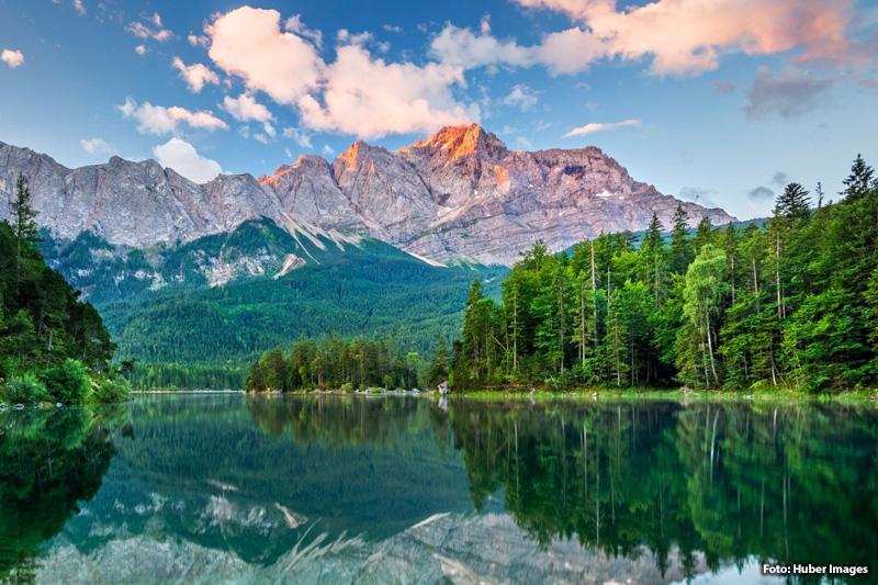 Der Eibsee – Natur-Highlight an der Zugspitze (51 km, 1 Stunde 40 Minuten)