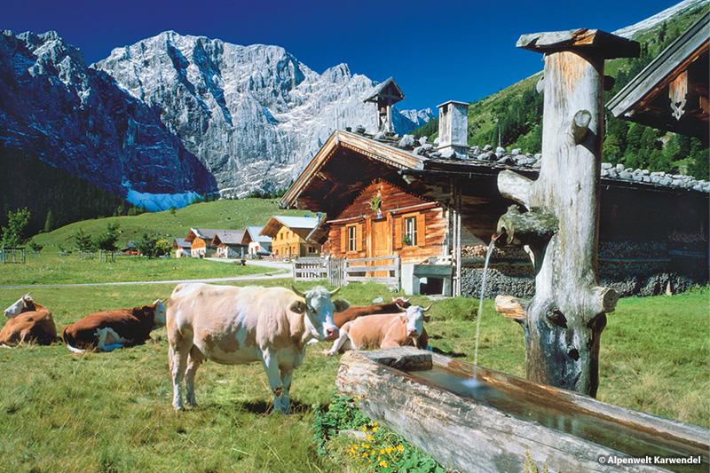 Ausflugsziel Eng Alm – Alpenwelt Karwendel (71 km, 1 Stunde 48 Minuten)