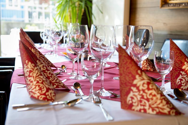 Ideal für Familienfeiern, Hochzeiten, Seminare