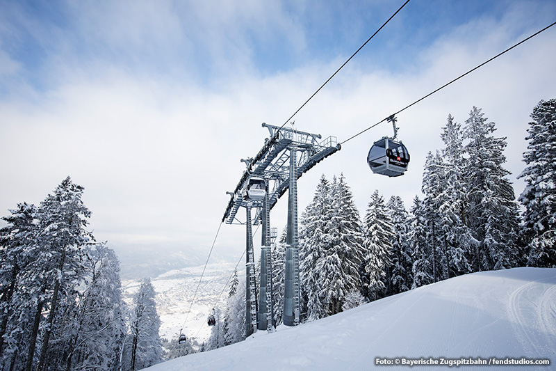 Hausbergbahn Skigebiet Garmisch-Classic