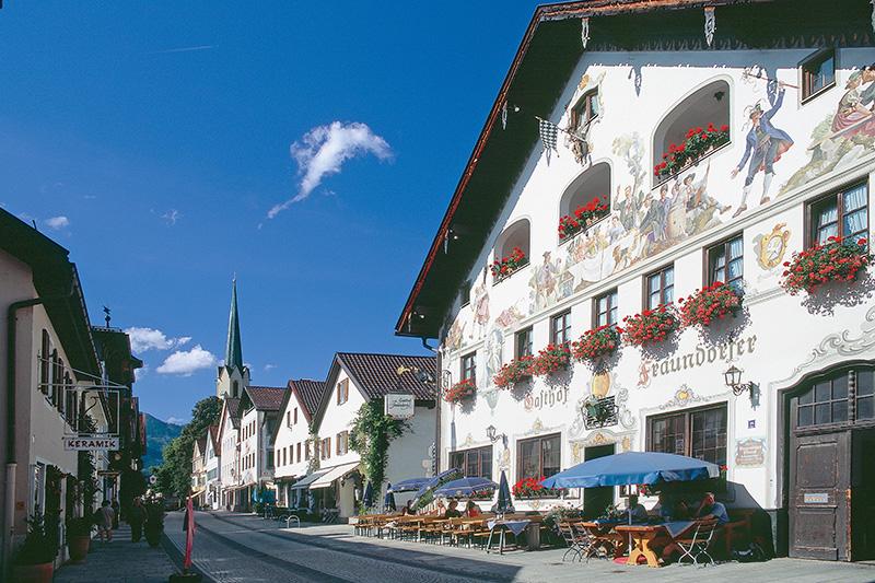 15 Minuten nach Garmisch-Partenkirchen