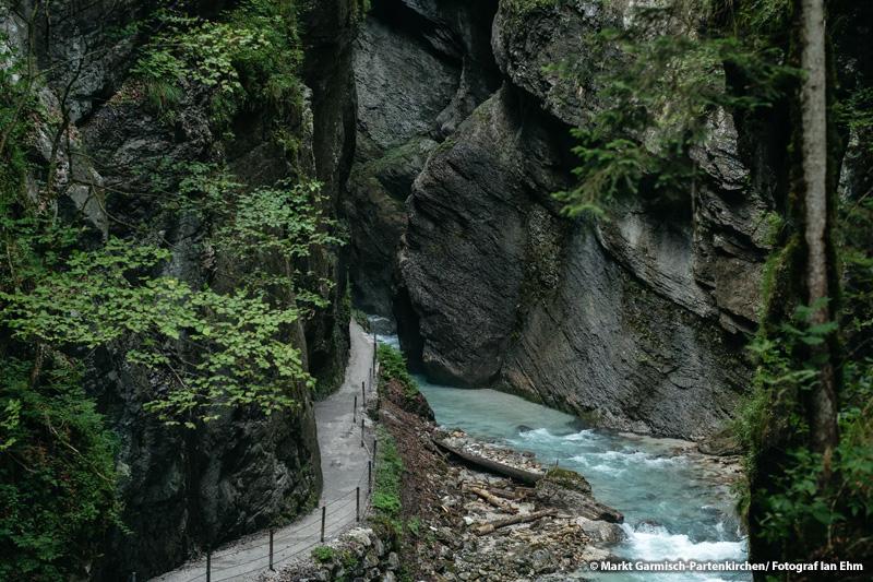 Naturschauspiel Partnachklamm (19 km, 32 Minuten)