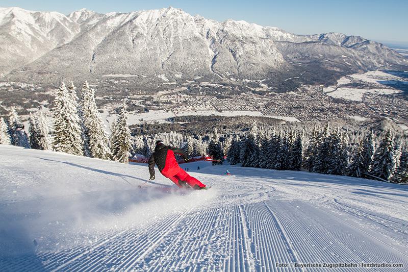 20 Minuten zum Skigebiet Garmisch Classic