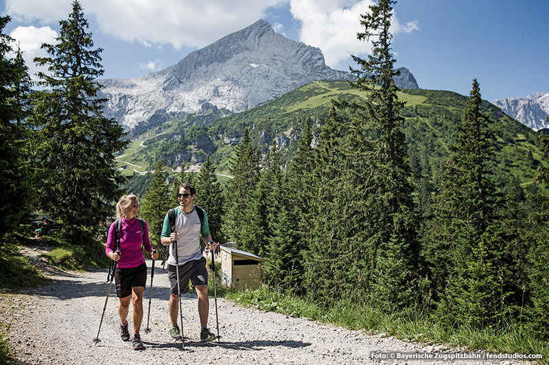 Wandergebiet Garmisch-Classic