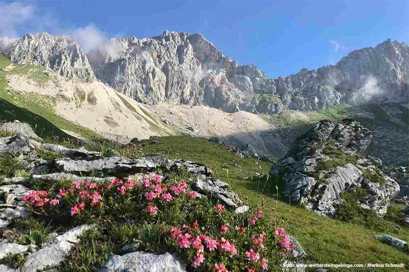Wandern im Wettersteingebirge