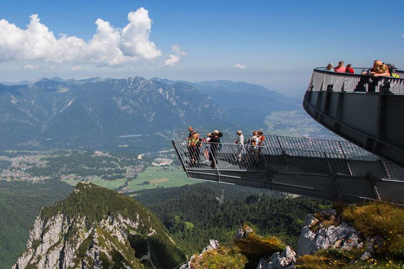 Alpspix Aussichtsplattform