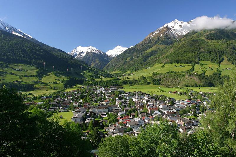 Mittersill - die Nationalpark Hauptstadt liegt inmitten der 3.000er des Nationalpark Hohe Tauern und den Grasbergen der Kitzbüheler Alpen