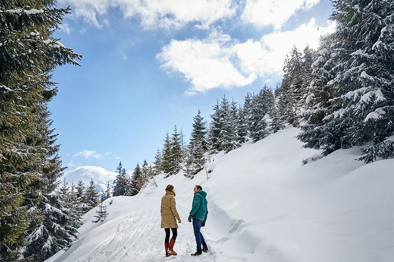 Winterwandern - einfach mal losmarschieren und die Winternatur wirken lassen im Salzburger Land