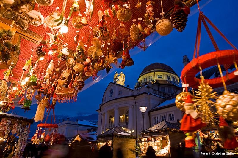 Adventsmarkt auf der Passerpromenade