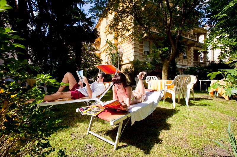 Entspannen im mediterranen Garten