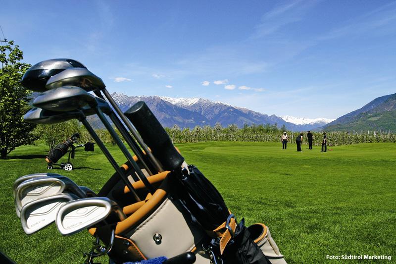 Golfen im Golfclub Passeier.Meran und Golfclub Lana