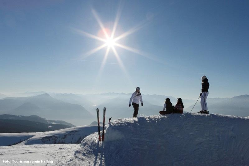 Bei diesem Ausblick macht man auch mal im Skigebiet Meran 2000 eine kleine Pause. Bilder, die man so schnell nicht vergisst!