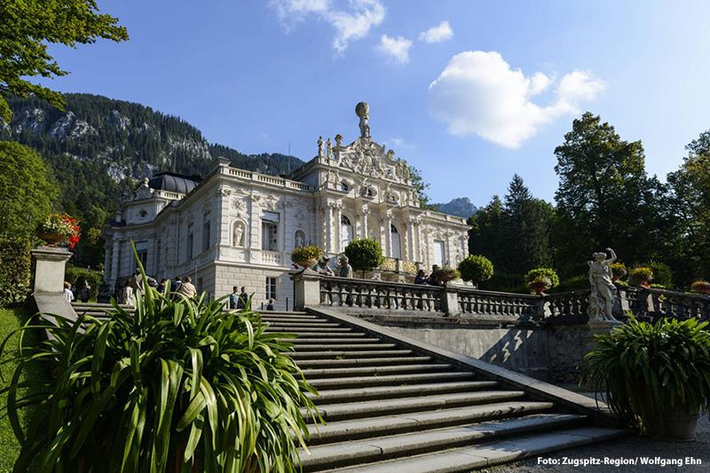 Schloss Lindnerhof von  König Ludwig II