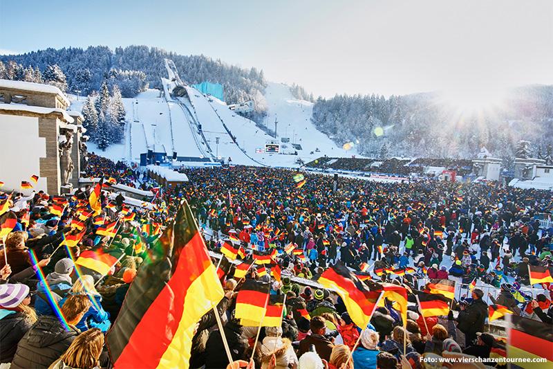 Vierschanzentournee in Garmisch