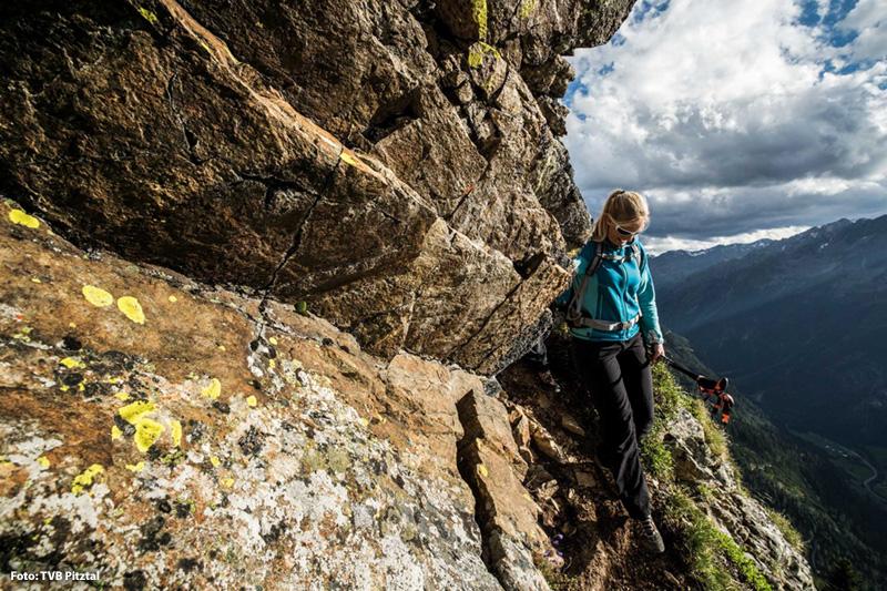 Wandern im Naturpark Kaunergrat - Dr. Angerer Höhenweg