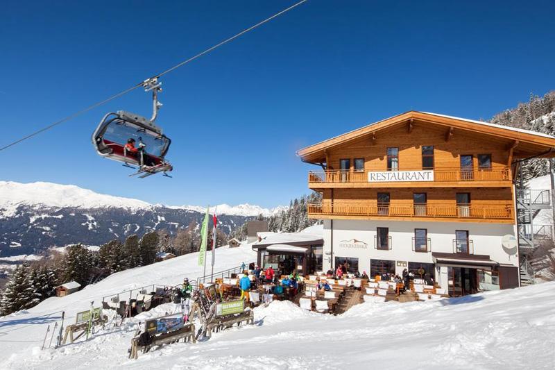 Berggasthof (1.900 m) im Hochzeiger Wandergebiet in Jerzens