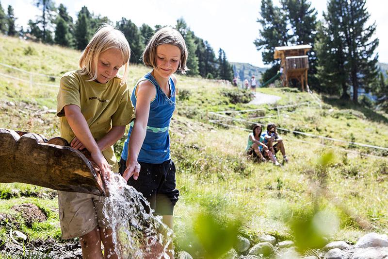 Familienerlebnis - Zirbenpark am Hochzeiger