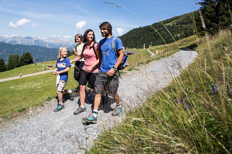 Familienfreundliche Wanderwege im Pitztal in Tirol