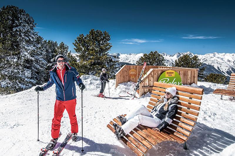 Skigebiet Hochzeiger - Jerzens im Pitztal