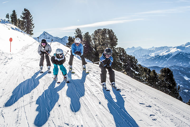 Familienfreundliches Skigebiet Hochzeiger (40 Pisten-km) in Jerzens