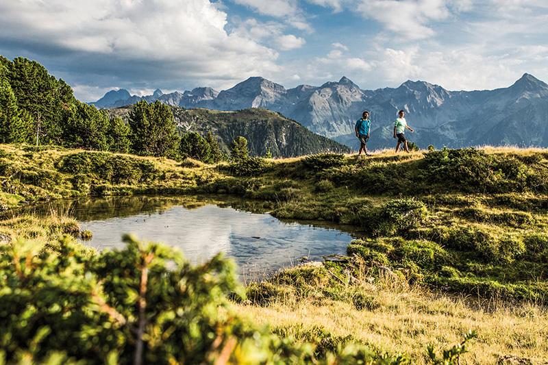 Wandern am Hochzeiger - Die Ferienregion Pitztal hat über 380 km Wanderwege in allen Leistungsstufen