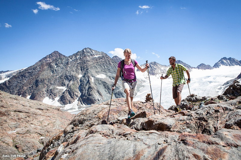 Gletscherwanderung am Pitztaler Gletscher - das besondere Sommer-Erlebnis für Jedermann