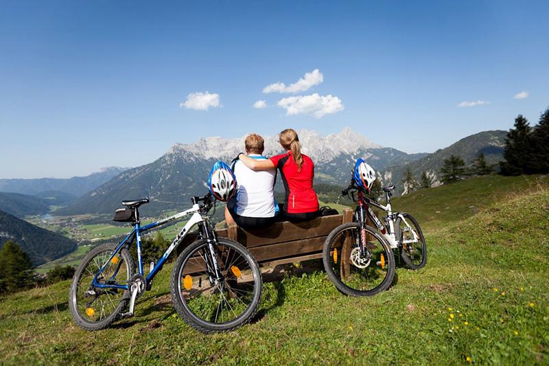Das PillerseeTal ist genau die richtige Ferienregion für einen Radurlaub in Tirol