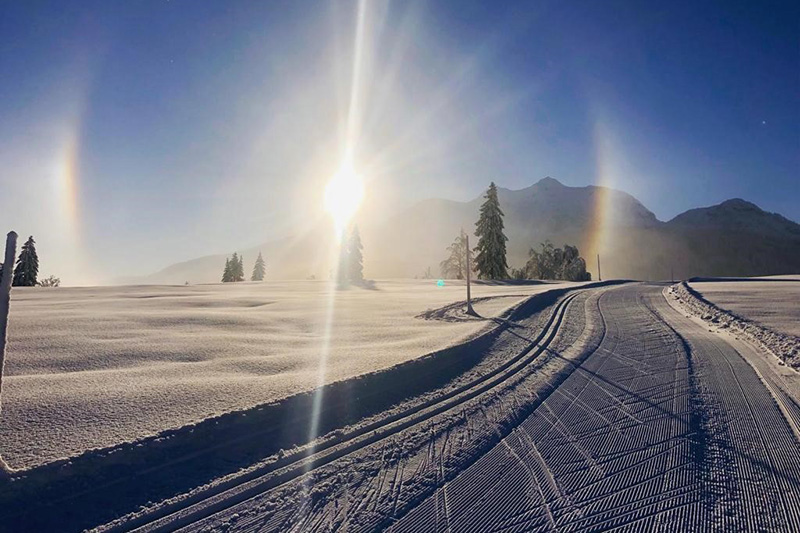 Einzigartige Langlaufmöglichkeiten hast Du auf den über 150 Loipen-km um Hochfilzen im Pillerseetal in Tirol